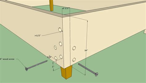 bed frame joints wooden bed frame plans howtospecialist how to