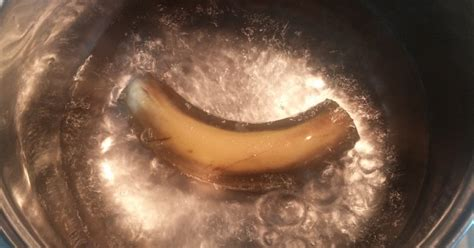 banana before bed boil a banana drink the water before bed and see what happens to your sleep