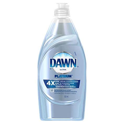 dawn platinum power clean dishwashing liquid dish soap