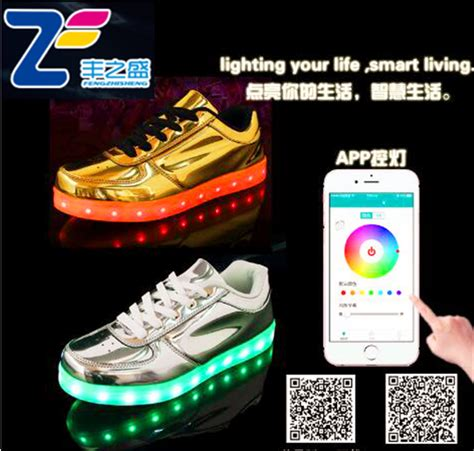 light up shoes app mls12014 new app control new product 2016 famous brand