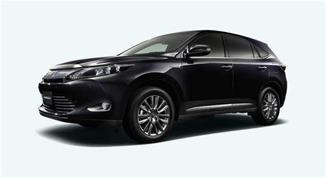 lexus harrier next lexus rx previewed with jdm toyota harrier autoblog