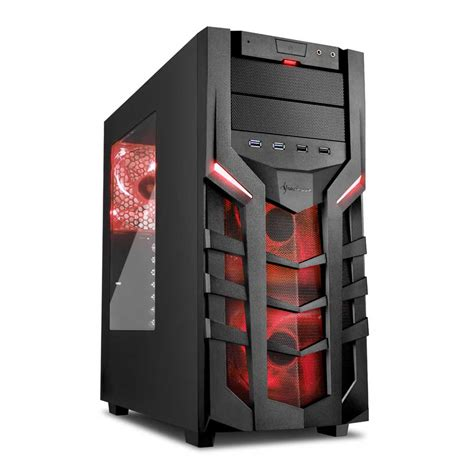 Casing Sharkoon Dg7000 sharkoon dg7000 atx midi tower released for demanding gamers legit reviews
