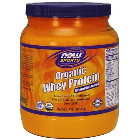 Whey Protein 1 Lbs Whey Protein Unflavored Organic 1 Lb