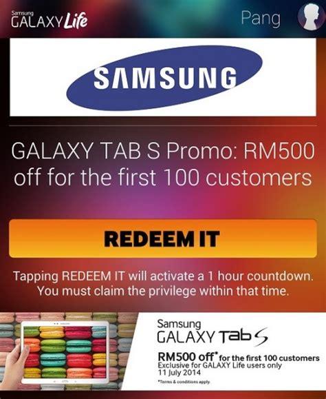 Diskon Samsung Galaxy Tab A samsung offers the galaxy tab s at a rm500 discount for