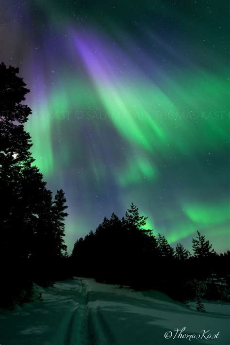 Finland Northern Lights by Northern Lights Finland Suomi Finland