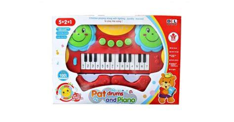 Set Kasur Bayi Lucu Orange Giraffe keyboard drum mainan bayi dan anak pat keyboard and drum
