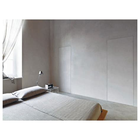 porte rasomuro porta scorrevole bianco opaco per rasomuro invisibile