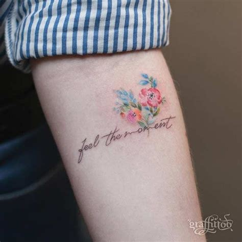 watercolor tattoo quote 25 best ideas about watercolor flower tattoos on