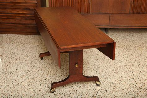 Convertible Coffee Dining Table Exceptional Walnut Convertible Coffee Dining Table At 1stdibs