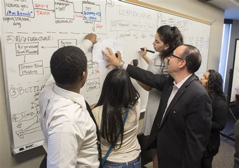 Rutgers Mba Supply Chain Curriculum by High School Students Learn About Supply Chain Management