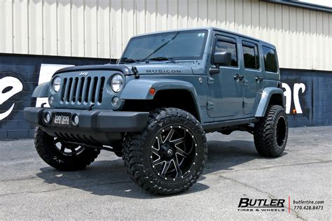 Jeep Wrangler Gas Jeep Wrangler With 22in Fuel Renegade Wheels Exclusively
