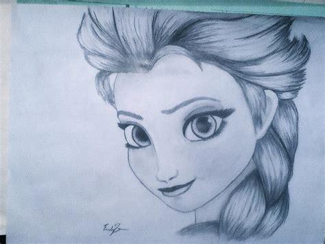 drawings of elsa from frozen pencil elsa drawing by drawdisney7 from r frozen
