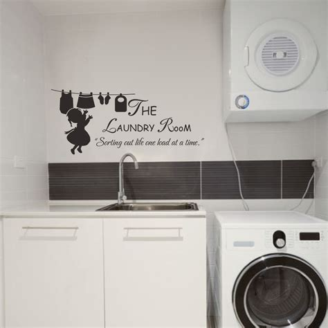 the vinyl room laundry sign the laundry room sorting out one load at a time vinyl wall decal laundry