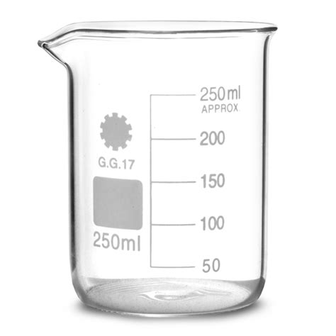 Hkw Kitchen Gelas 250 Ml glass measuring beaker 200ml