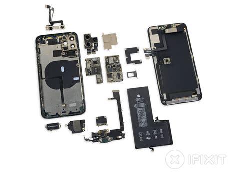 ifixit awards iphone  pro max  repairability score