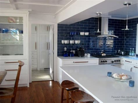Blue Kitchen Cabinets Ideas by