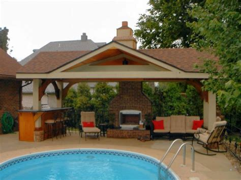 Pool House Plan Pool House Designs For Beautiful Pool Area Pool House Designs Fireplace High Bar