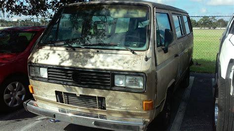 volkswagen vanagon 1987 1987 vw vanagon 2 1l for sale volkswagen forum vw