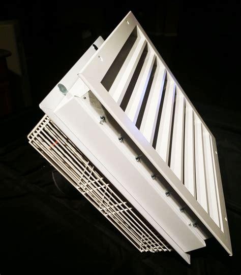 garage window exhaust fan aluminum air intake vent cool my garage
