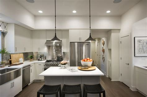 recessed lighting for kitchen ceiling pictures of the hgtv smart home 2015 kitchen hgtv smart