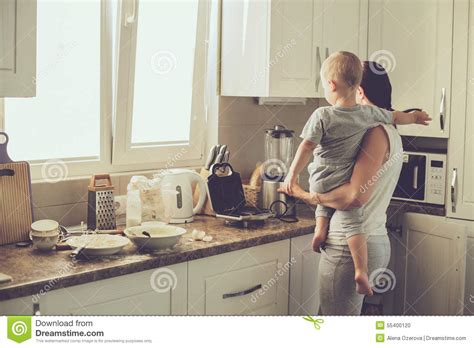 the knife mom used mother s day kitchen gifts rada blog mother with child cooking together stock photo image