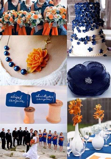 pin by ben on maddie s pretties blue orange weddings