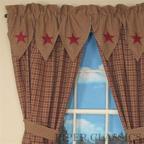 primitive panel curtains primitive curtains on clearance country drapes and panel