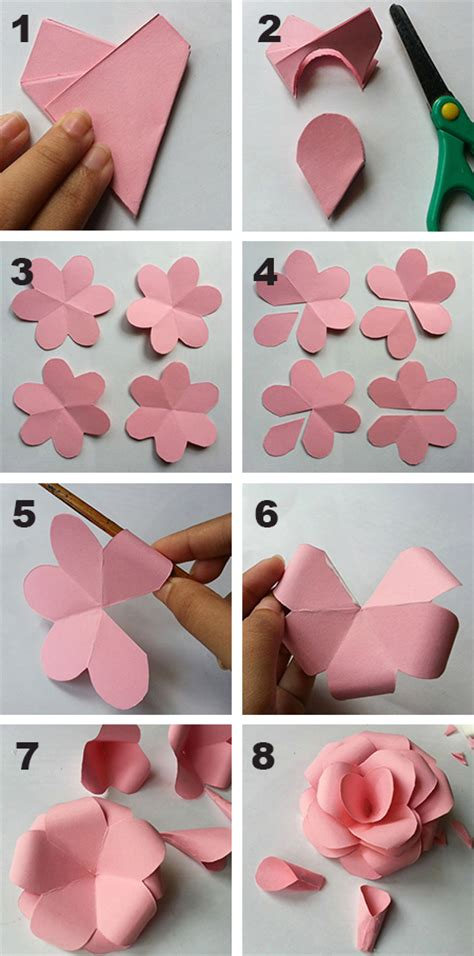 Show How To Make Paper Flowers - show how to make paper flowers webwoud