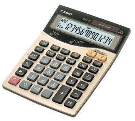 Kalkulator Casio Dj 220d Dj 240d casio dj 240 ordinateurs de poche calculatrices casio