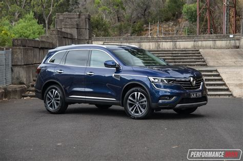 renault koleos 2017 2017 renault koleos intens 4x4 review video