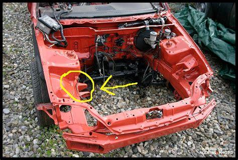92 95 civic trans chassis bracket honda tech honda