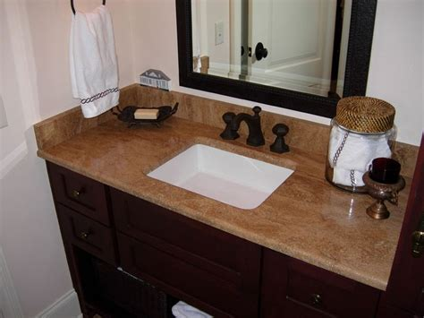 travertine bathroom countertops pin by angela greathouse l on bathroom pinterest