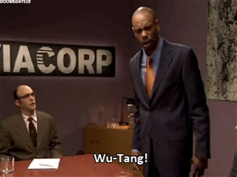 Wu Tang Meme - gif funny rap wu tang dave chappelle 8doobiestodaface