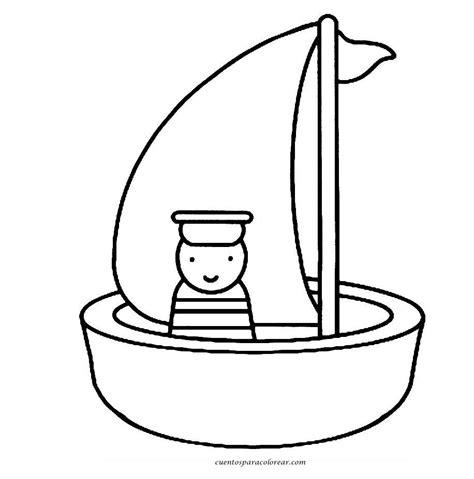 imagenes de barcos para dibujar faciles dibujos para colorear barcos