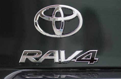toyota rav4 logo toyota recalls 1 1m suvs for possible seat belt