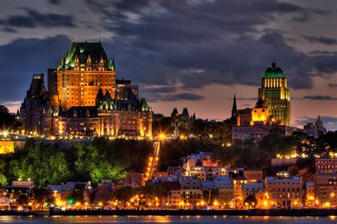 google images quebec city panoramio photo of quebec city after sunset