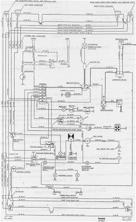 complete wiring diagram  volvo pv   wiring diagrams