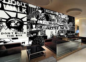 tren  dekorasi cafe hitam putih beauty glamorous
