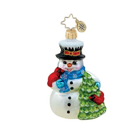 christopher radko snowman the most wonderful time of the