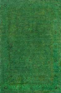 rugsville overdyed forest green rug 11057 rugsville co uk