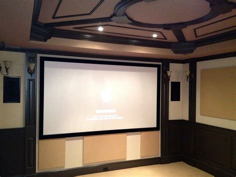 dedicated home theater room audio residential home automation gallery
