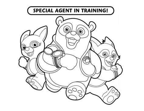 free coloring pages of paw pilot
