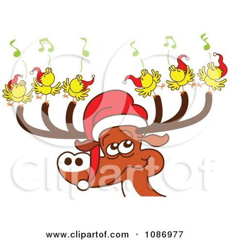 reindeer with santas hat template new calendar template site santa reindeer hats new calendar template site