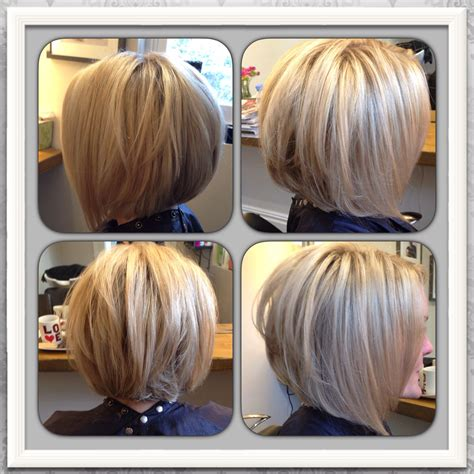 bob hairstyles with slightly layered graduated layered bob back view www imgkid com the
