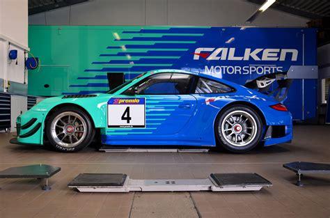 porsche falken falken motorsports reveals 2013 porsche 911 gt3 r for
