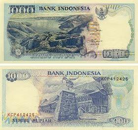 Uang Rp 1000 Tahun 1958 gambar uang 1000 rupiah dari dulu sai sekarang wisbenbae