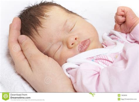 sleeper baby stock photo image 1963830