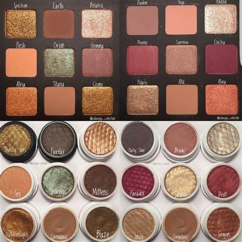 Original Colourpop Eyeshadow home update lipsticks swatches eye shadows dupes