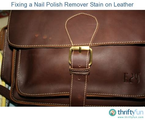 how to remove nail from leather sofa fixing nail remover stains on leather thriftyfun