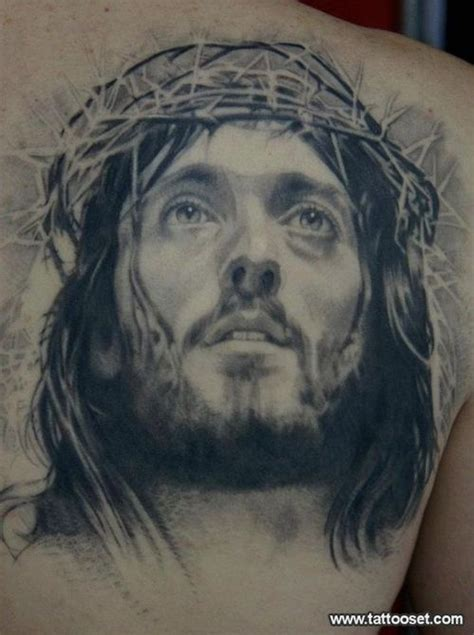 jesus tattoo art jesus face tattoos and body art and faith tattoos on